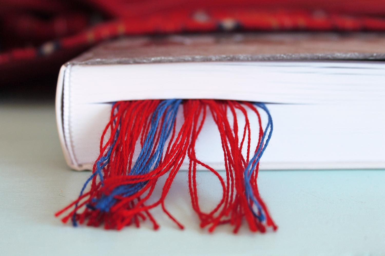 Narmastega järjehoidja kaunistab igat raamatut. Narmad raamatu vahel