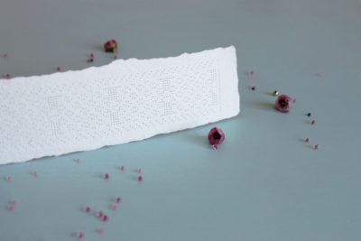 Simuna kirivöömustriline niidik, paberile tikkimise komplekt