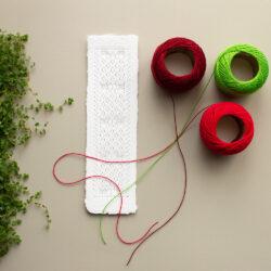 Simuna kirivöömustriline niidik paberile tikkimiseks